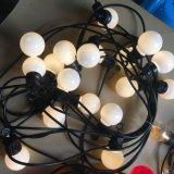 IP65 LEDの屋外のクリスマスの地球の花飾りのテラスストリングライト