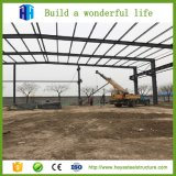 Estructura de Acero Galvanizado prefabricadas Construcción Plan Derramada