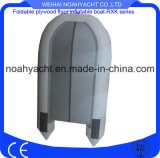 Pescherecci gonfiabili del PVC di rematura bianca prefabbricata popolare della Cina con la parte inferiore dura del compensato