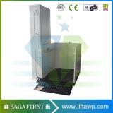 200kg 1.5m hydraulische vertikale Rollstuhl-Aufzug-Plattform