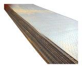 Plaque en acier à damiers de carbone avec divers modèles