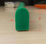 Gomma piuma flessibile di resistenza termica o cavo quadrato solido della gomma di silicone
