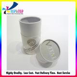 Rectángulo de empaquetado de empaquetado cosmético lujoso del regalo de papel del cilindro