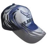 Горячая бейсбольная кепка панели сбывания 6 с изготовленный на заказ логосом (13602)