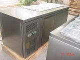 Aço inoxidável sob o refrigerador contrário de Worktop com Ce