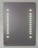 Specchio d'angolo moderno della stanza da bagno del blocco per grafici 2016 con il LED (LZ-008)