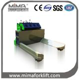 Тележка паллета Mima электрическая с более широкими вилками
