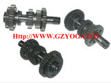 Yogのオートバイの予備品エンジンギヤボックス主要なシャフトキットの反対シャフト完全なCg125 150 70cc St90 At110 Ybr125 Dy100 Biz110 Gn125 En125hu Cgl125の馬Akt125