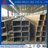 Tubo d'acciaio rettangolare del ferro del carbonio del nero del materiale da costruzione