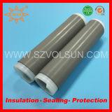 Ultravioleta resistente goma de silicona en frío Tubería del encogimiento