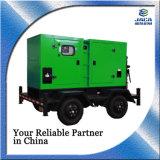 Portable tipo silencioso generador diesel generador de remolque 50kw