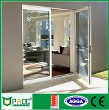 Коммерческие дверная рама перемещена из алюминия с Flyscreen двери для Австралии