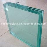 Épaisseur différente de verre feuilleté coloré