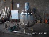 Les mesures sanitaires isolant chemisé pour cuve de mélange avec le côté le racleur