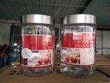 De in het groot Kruik van het Glas aan de Bruine Suiker van de Opslag/Witte Suiker