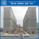 液化天然ガスLPGのガスの周囲の空気の蒸発器