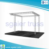 10 * 10feet aluminio Exhibición Truss Display stand de feria