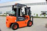 2.5 Tonne LPG-Motor angeschaltener Ladeplatten-Gabelstapler