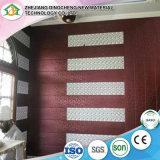 Panneau de mur imperméable à l'eau de panneau de plafond de panneau de PVC de cannelure pour Deocration intérieur DC-65