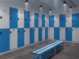 Gabinete de piscinas HPL impermeável e de vida simples moderna