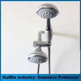Niederschlag kombiniert durch Regen-Dusche-Kopf-und 6-Setting 4-Inch Handdusche Dreamspafeatures 6-Setting 7-Inch mit patentiertem AN/AUS-PAUSE-Schalter. Jede Dusche Separa verwenden