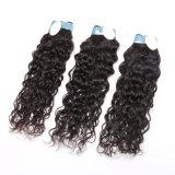 100% 페루 프랑스 꼬부라진 Virgin 사람의 모발 흑인 여성 자연적인 색깔 프랑스 곱슬머리