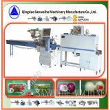 Gemüsetellersegment-automatische Wärmeshrink-Verpackungsmaschine