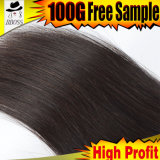 Weave волос девственницы бразильянина самого лучшего продавеца 100%