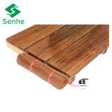 Suelo de bambú al aire libre dirigido sostenible
