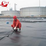 Zwarte Plastic Afdekkende HDPE Geomembrane van de Voering van de Vijver van de Viskwekerij voor Pool