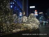 LED de la decoración del jardín Cortina de luz de césped al aire libre