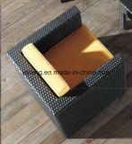 Sofá moderno mobiliário de exterior resistente a UV PE móveis de vime Vime sofá (YT195)