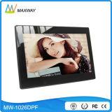 LCD Screen 10inch Digital Frame com reprodução de MP3 / MP4 / Slideshow