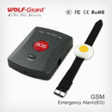 GSM Emergency Alarm Elderly Emergency Calling Alarm System con Bracelet Panic Button SOS