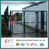 Moderno diseño de malla de alambre soldado hermosa Puerta de Hierro y cercar