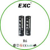 Backupbatterie der AA-alkalische Batterie-1.5 V Lr6 für Taktgeber