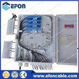 Boîte de distribution optique de fibre de diviseur de PLC d'IP65 1*4 1*8 1*16