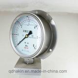 De Manometer van de Maat van de Druk van het Bewijs van de Schok van de hoogste Kwaliteit met AchterFronge