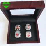 Venta directa 4 PCS 2004 de Facyory 2007 2013 anillos de campeonato de Boston Red Sox con los rectángulos de madera