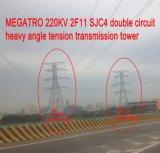 Megatro 220кв 2f11 Sjc4 двойной контур тяжелых натяжение угла коробки передач в корпусе Tower