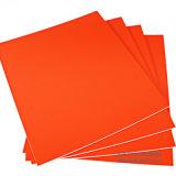 Hoja rígida de la espuma de los PP de los materiales de la tarjeta de la muestra