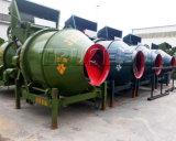 Tipo máquina da bandeja da construção do misturador concreto para o canteiro de obras pequeno