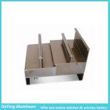 Profil de anodisation de couleur d'extrusion en aluminium en aluminium d'usine de la Chine