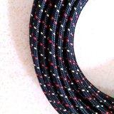 Mischfarben-Gewebe-umsponnenes Kabel