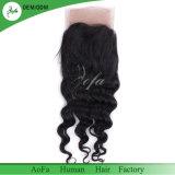 Frontal indiano del merletto dei capelli qualità nera naturale del fornitore di migliore