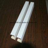 Teto plástico de madeira do composto WPC da decoração interna