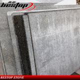 Laminated Bullnose Edge Granite Countertop para cozinha doméstica