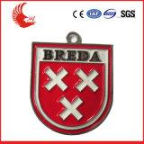 BSCI Fabrik-Zubehör-Qualitäts-kundenspezifische Firmenzeichen-Sport-Medaille mit Farbband