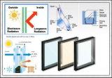 Baixo-e vidro isolado de 6mm+6A+6mm com alta qualidade