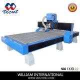 木工業の彫版機械(VCT-1530W)を切り分ける単一ヘッドCNC